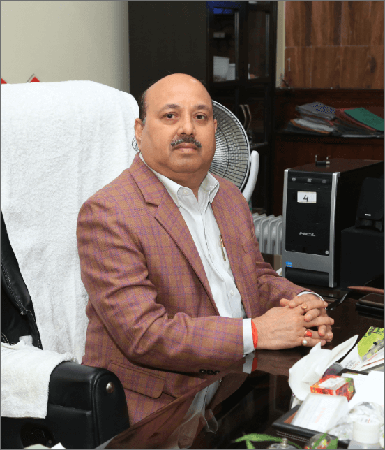 Mr. V.S. Pandey Founder Chairman & Managing Director
